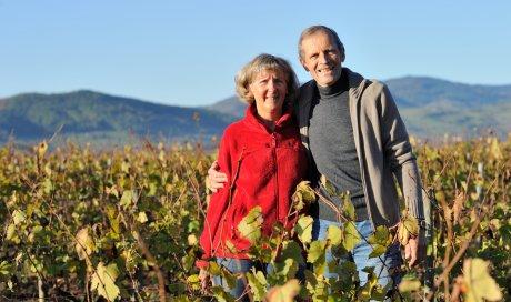 """Marie-Thérèse et François SUBRIN, vignerons bio - Domaine du """"Crêt de Bine"""""""