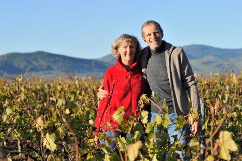 """Marie-Thérèse et françois SUBRIN, vignerons - Domaine du """"Crêt de Bine"""""""