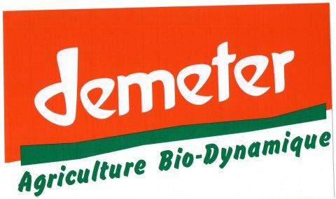 "logo de la biodynamie - Domaine du ""Crêt de Bine"""