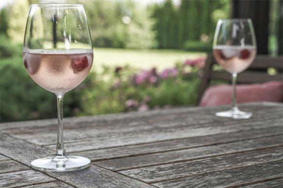 Vin perlant rosé 2018 Cuvée méthode ancestrale à Sarcey